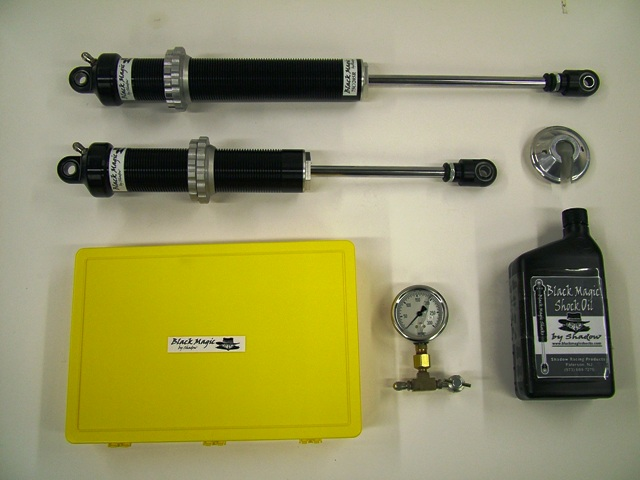 Black Magic Racing Shocks for Dirt Modified, Late Model and